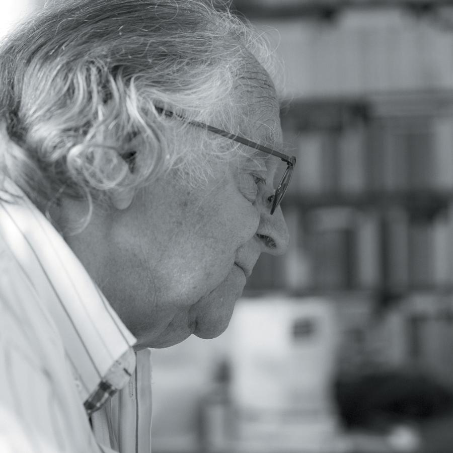 Pierre Dhainaut par Jean-Marie Dautel pour la bibliothèque municipale de Lille