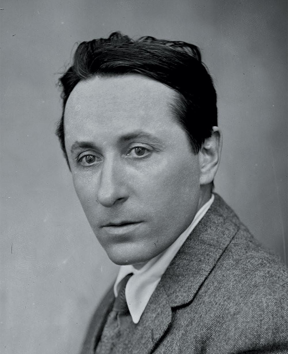 Détail de: M. Roland Dorgelès, 1924, photographie de presse, Agence Rol