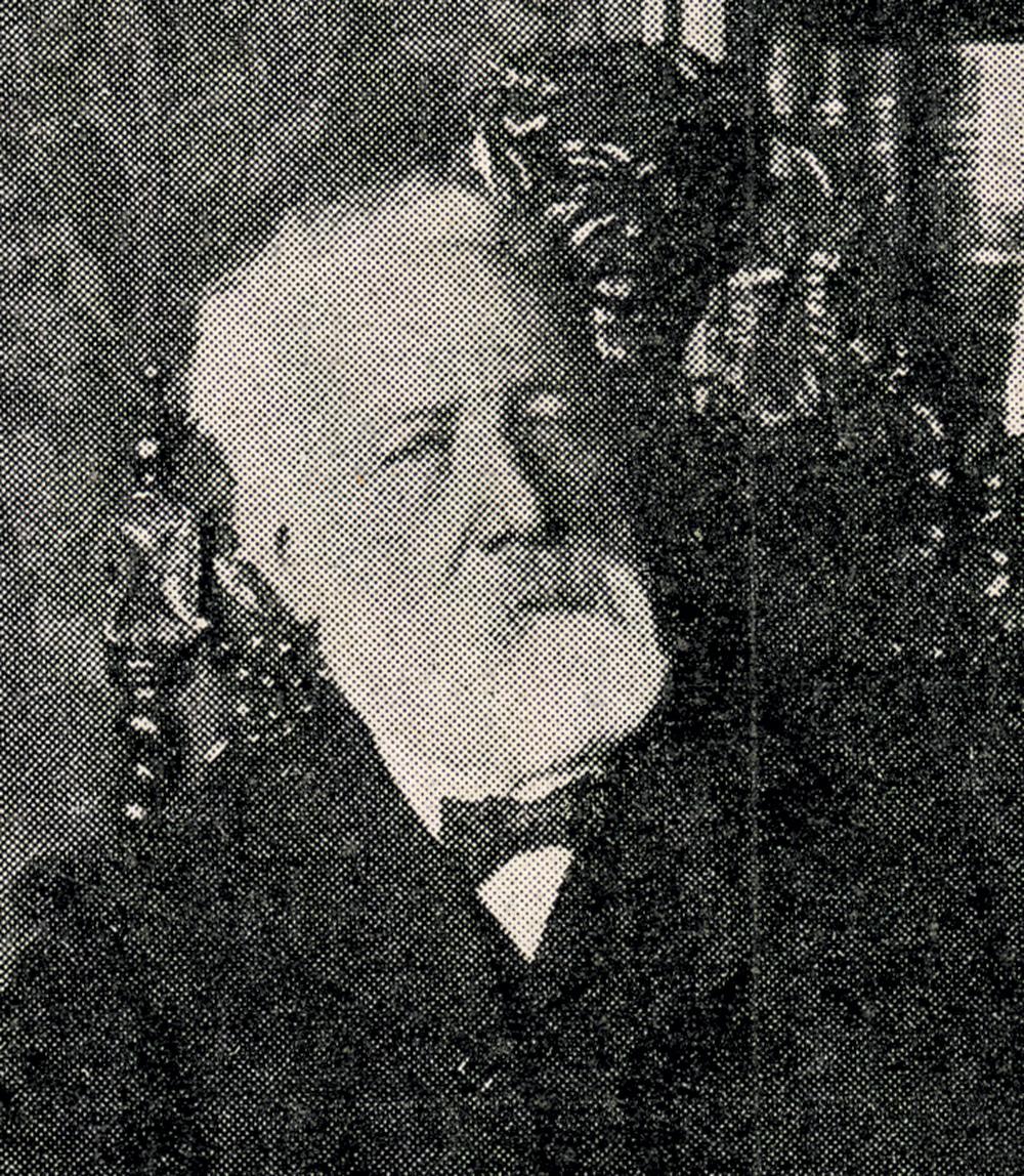 Détail de: Douard, «Jules Verne dans sa bibliothèque». L'illustration, 25 mars 1905 ©Bibliothèques d'Amiens Métropole