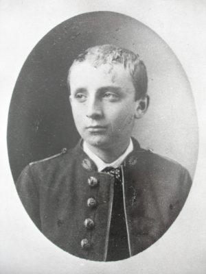Paul Claudel en collégien vers 1881- Archives Paul Claudel
