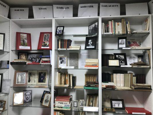 La bibliothèque d'Henri Martel, © Centre Henri Martel de Documentation et de Recherches de l'Histoire Sociale du Bassin Minier