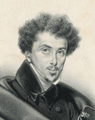 Détail de : Portrait d'Alexandre Dumas, estampe publiée dans le supplément du Voleur n°40 ©Musée Alexandre Dumas, Ville de Villers-Cotterêts